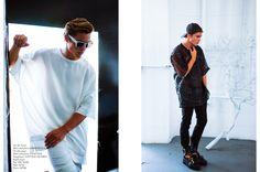 By Brandon Andre Fashion by Roman Sipe Model Jon Hermann