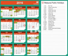 Februar-Kalender, 2016
