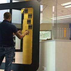 We designed and made a giant abacus for the Brightrock actuarial department. #beancounting #wemakestuff #ideamongery