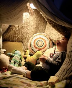 I WILL make a blanket fort for Gracie when she is a little older. And I WILL allow her room to be a permanent blanket fort if she so desires.