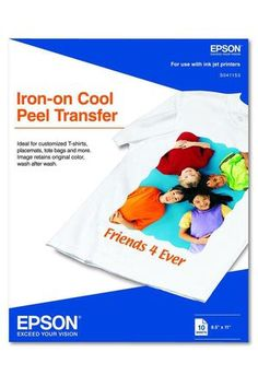 Using the Right Iron on Transfer Paper