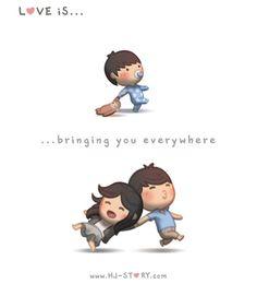 Levar você para todo lugar.