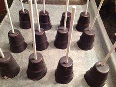 """Today, I have a guest post from Melinda. She's the cake popper behind I Pop Cakesand is going to show us how she makes her amazing Microphone Cake Pops. Thanks so much!Hi, I'm Melinda. I make creative and unique cake pops from the comfort of my home in MA. I was always labeled the """"Betty Crocker"""" of my family especially after I had kids. So, it was no wonderthat after years of searching for something I can work on passionately I discovered the sweet taste of a cake pop and the fun…"""
