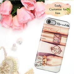 Rose Gold Makeup iPhone Case Phone Wallet Luxury Designer