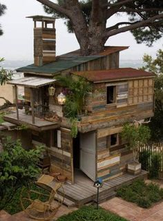 caban house in the wood