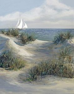 What is Your Painting Style? How do you find your own painting style? What is your painting style? Seascape Paintings, Landscape Paintings, Beach Paintings, Landscape Pics, Painting Trees, Watercolor Landscape, Watercolor Art, Beach Scenes, Beach Art