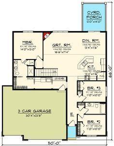 Plan 89908AH: Classic Craftsman Ranch House Plan