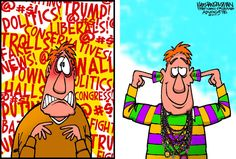 News through the eyes of cartoonists - Walt Handelsman/The New Orleans Advocate