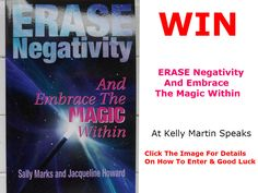 WIN Erase Negativity & Embrace The Magic Within - giveaway  #win #giveaway #contest #book