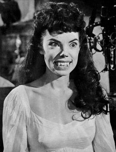 """Andree Melly as Gina in """"The Brides of Dracula"""" (1960)"""