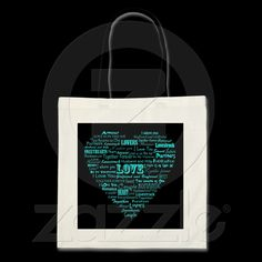 Love word collage bag from Zazzle.com