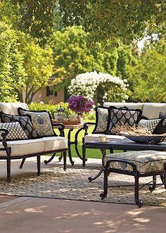 beautiful garden furniture.