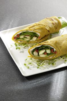 Rezept aus VEGAN FOR YOUTH: Wraps on the Run - amicella