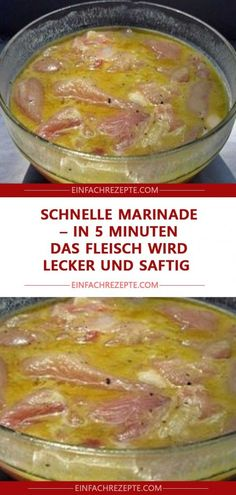 Schnelle Marinade in 5 Minuten – das Fleisch wird lecker und saftig Quick marinade in 5 minutes – the meat becomes delicious and juicy Steak Fajita Marinade, Beef Fajitas, Pork Chop Recipes, Fish Recipes, Asian Recipes, Barbecue Recipes, Grilling Recipes, Slow Cooker Steak, Chicken Fajita Recipe