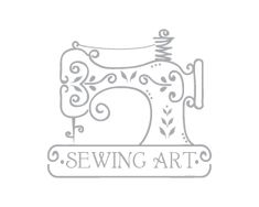 ideas for sewing machine logo crafts Sewing Art, Sewing Rooms, Sewing Crafts, Sewing Projects, Sewing Machine Tattoo, Sewing Machine Drawing, Embroidery Patterns, Quilt Patterns, Sewing Patterns