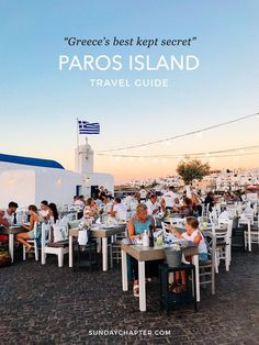 Sunday Chapter's Guide to: Paros Island, Greece When traveling back to Europe this summer, there was one thing I wanted...