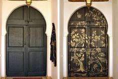 Chinoiserie Door | 15 Summery Front Doors