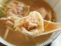 The Best Wonton Soup:  SLIDESHOW & RECIPE