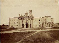 Foto storiche di Roma - Basilica di Santa Croce in Gerusalemme Anno: 1875 ca