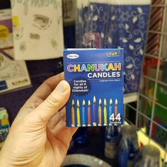 If you celebrate #hanukkah don't get caught without your #hanukkahcandles!