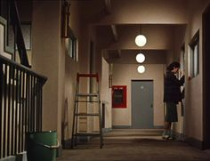 Good Morning (お早よう Ohayō) - 1959 directed by Yasujirō Ozu Yasujiro Ozu, Episode Backgrounds, Still Frame, Movie Shots, Film Inspiration, Traditional Paintings, Film Stills, Film Photography, Aesthetic Pictures