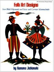 Folk Art Designs: From Polish Wycinanki and Swiss and German Scherenschnitte | Penfield Books