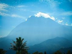 Mount Kinabalu at Kinabalu National Park  http://www.inspirawtion.com/kinabalu-national-park.html