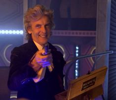 """After shooting the regeneration scene, Peter was presented with a good-bye box and he said, """"My ashes!""""  Never change, Peter <3"""