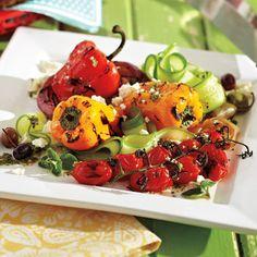 BBQ Greek Salad recipe - Fresh Juice