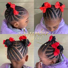 Gorgeous Braids for kids # Braids africaines enfants Box Braids Hairstyles, Toddler Braided Hairstyles, Toddler Braids, Baby Girl Hairstyles, Natural Hairstyles For Kids, Braids For Kids, Natural Hair Styles, Children Braids, Kids Braids With Beads