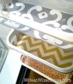 DIY Solution for Easy Refrigerator Drawer Wipe-up's
