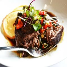 Great food at Breakwater.  This dish simply melts in your mouth.  Located downtown.