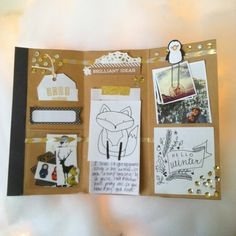 Janette Lane: Wintery Snail Mail