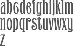 MyFonts: Saloon fonts