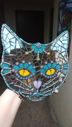 Mosaic Art Projects, Mosaic Crafts, Stained Glass Projects, Mosaic Designs, Mosaic Patterns, Mirror Mosaic, Mosaic Glass, Mosaic Garden Art, Mosaic Rocks