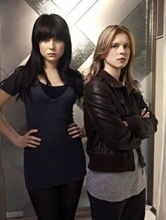 Zoe Graystone and Lacy Rand from Caprica