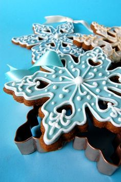 Gingerbread Snowflakes by Whoopi