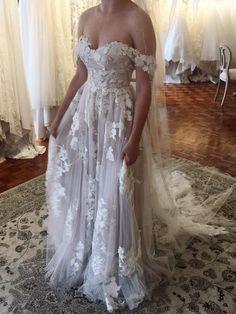 Elora by Madi Lane Bridal Indie Wedding Dress, Cheap Wedding Dress, Dream Wedding Dresses, Wedding Dressses, Wedding Bells, Wedding Day, Wedding Dreams, Wedding Stuff, Pink Prom Dresses