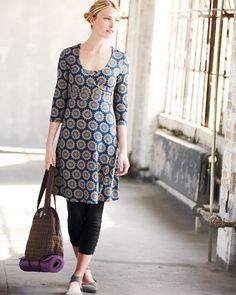 zinni™ by Garnet Hill Surplice Yoga Dress