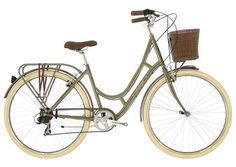 2016 Raleigh Cameo Women's 7 Speed Classic Lifestyle Bike Moss Green