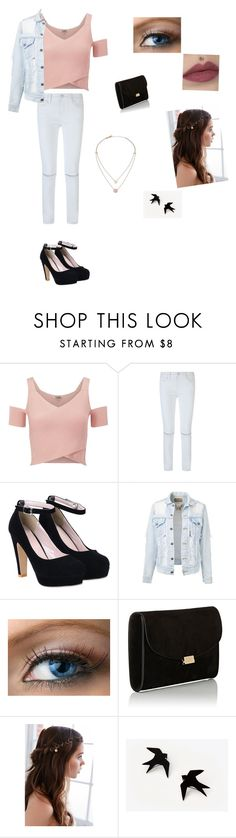 """""""Night out in pastels"""" by sophie295 ❤ liked on Polyvore featuring Lipsy, Rebecca Minkoff, Mansur Gavriel, REGALROSE and Michael Kors"""