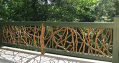 Terraces railing design - ideas for modern terrace design