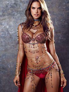 Alessandra Ambrosio - Victoria's Secret Fantasy Bras 2014
