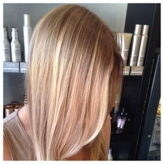 Balayage blonde. Hand painted highlights. balayage specialist San Diego