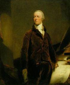 William Pitt (1759-1806) posthumous portrait by Sir Thomas Lawrence (1807).