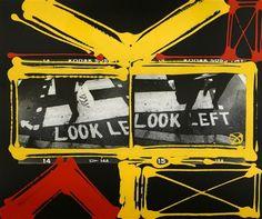 Look Left, London by William Klein