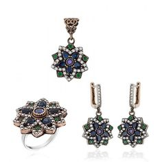 Authentic Women's Silver Jewelry Sets Ottoman www.hanedansilver.com #Roxelana #East #Market #Hurrem #Jewellers #Silver #Earring #Jewelers #Ottoman #GrandBazaar #Earring #Silver #Pendant #Silver #Bracelet #Anadolu #Schmuck #Silver #Bead #Bracelet #East #Authentic #Jewelry #Necklace #Jewellery #Silver #Ring #Silver #Necklace #Pendant #Antique #istanbul #Turkiye #Reliable #Outlet #Wholesale #Jewelry #Factory