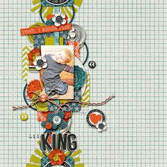 Lil-King Using King of the World by Shawna Clingemran