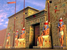 Temple of Karnak, Reconstruction