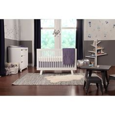 Babyletto Hudson 3-in-1 Convertible Crib - Ships To Canada - Overstock.ca - 15072521 - Mobile